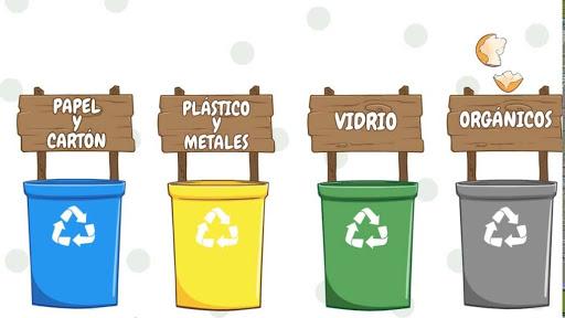 colores de los contenedores de reciclaje, como cuidar el medio ambiente,